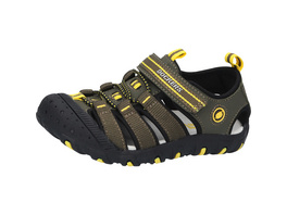 Trekking-Sandale, rund, Cut-Outs, Klettverschluss, für Jungen
