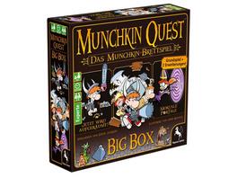 Pegasus 51953G - Munchkin Quest, Das Munchkin-Brettspiel, BIG BOX, 2. Editionl